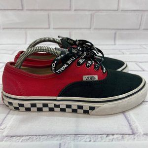 VANS Authentic Canvas Skate Shoes Checkered